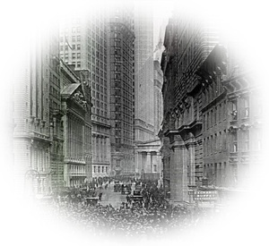 Crash of NYSE in 1929